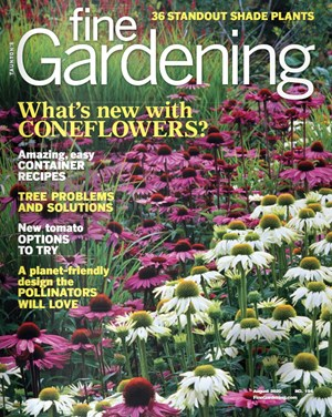 Fine Gardening Magazine   8/2020 Cover