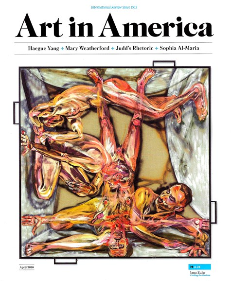Art In America Cover - 4/1/2020