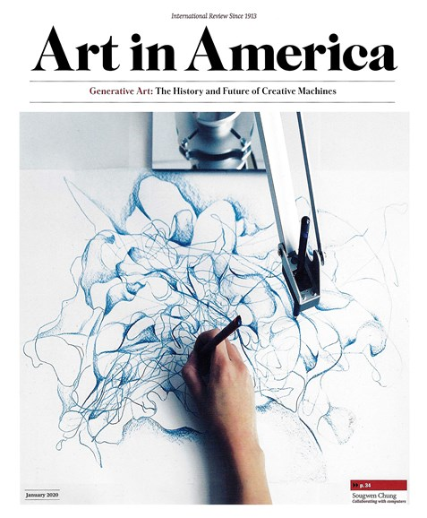 Art In America Cover - 1/1/2020
