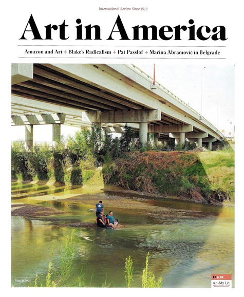 Art In America Cover - 3/1/2020