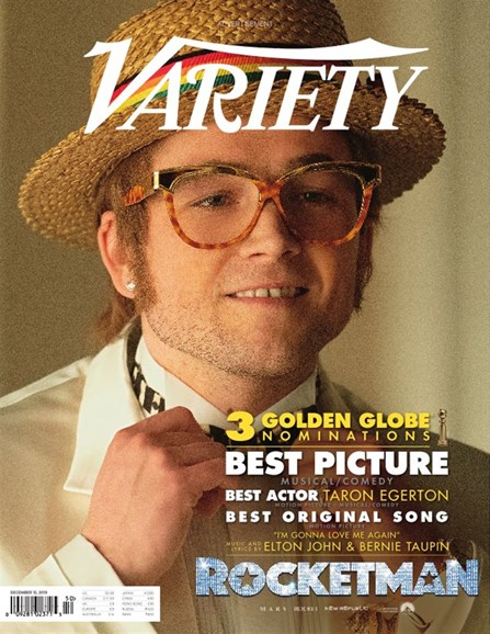 Variety Cover - 12/12/2019
