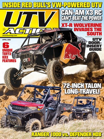 UTV Action Cover - 4/1/2020
