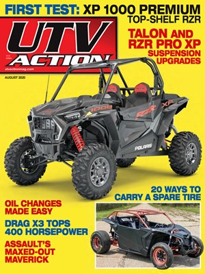 UTV Action Magazine | 8/2020 Cover