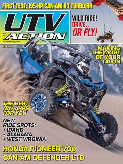 UTV Action Cover - 7/1/2020