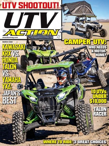 UTV Action Cover - 3/1/2020