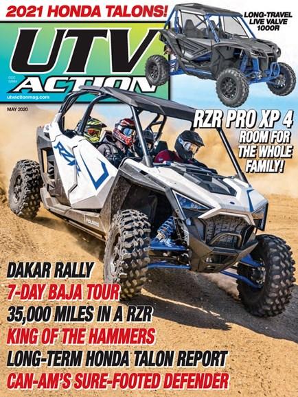 UTV Action Cover - 5/1/2020