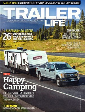 Trailer Life Magazine | 8/2020 Cover