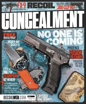 Recoil Concealment | 6/2020 Cover