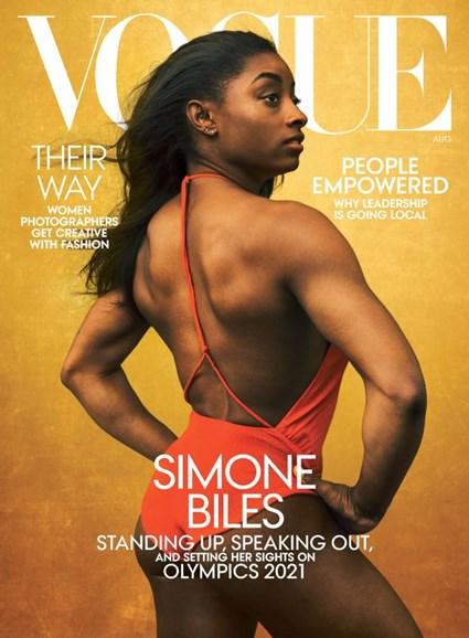 Vogue Cover - 8/1/2020