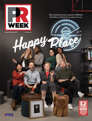 PRWeek Magazine | 1/2020 Cover