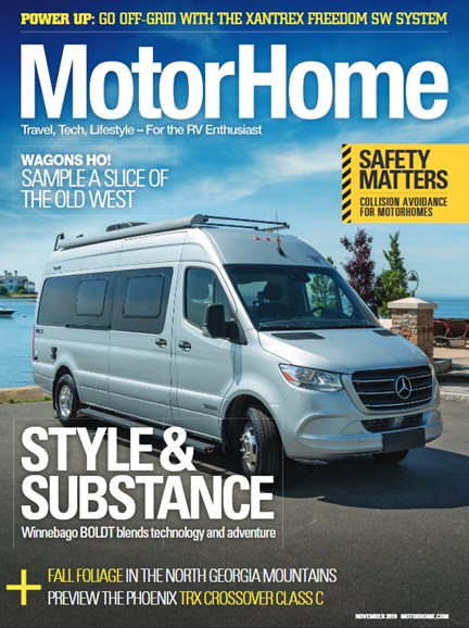 MotorHome Cover - 11/1/2019