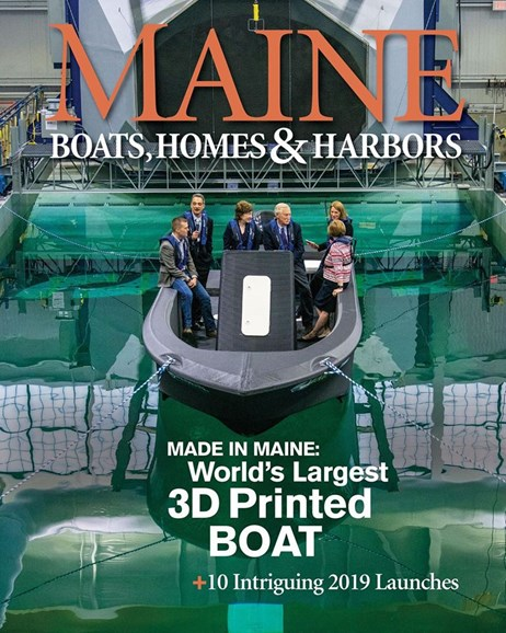 Maine Boats, Homes & Harbors Cover - 1/1/2020