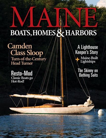Maine Boats, Homes & Harbors Cover - 7/1/2020