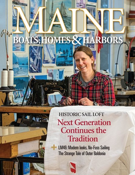 Maine Boats, Homes & Harbors Cover - 3/1/2020