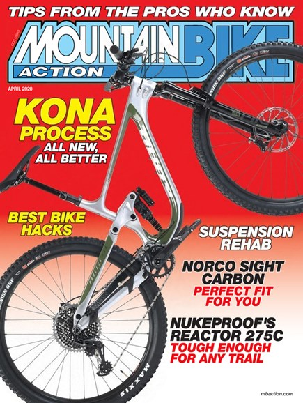 Mountain Bike Action Cover - 4/1/2020