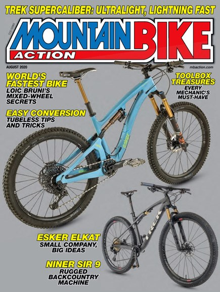 Mountain Bike Action Cover - 8/1/2020