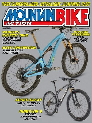 Mountain Bike Action Magazine | 8/2020 Cover