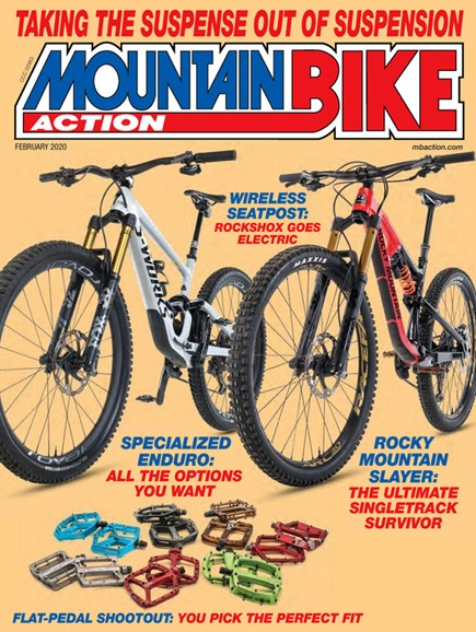 Mountain Bike Action Cover - 2/1/2020