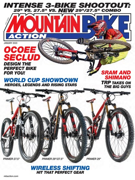 Mountain Bike Action Cover - 1/1/2020