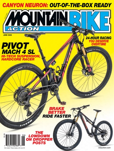 Mountain Bike Action Cover - 6/1/2020
