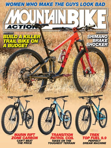 Mountain Bike Action Cover - 3/1/2020