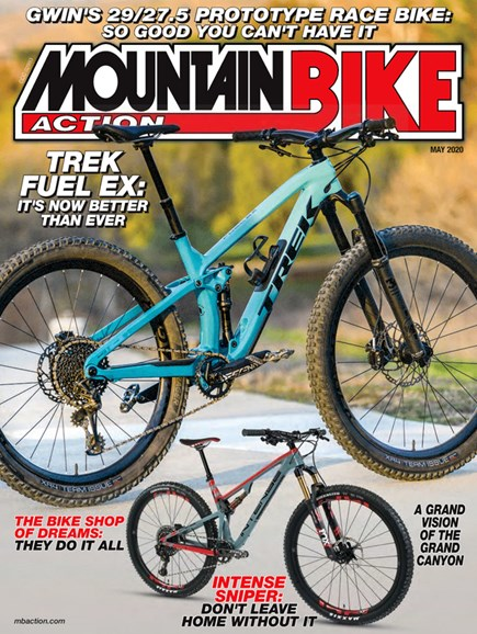 Mountain Bike Action Cover - 5/1/2020