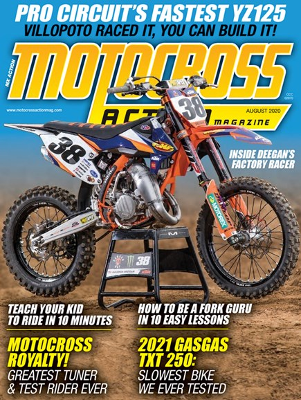 Motocross Action Cover - 8/1/2020