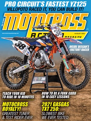 Motocross Action Magazine | 8/2020 Cover