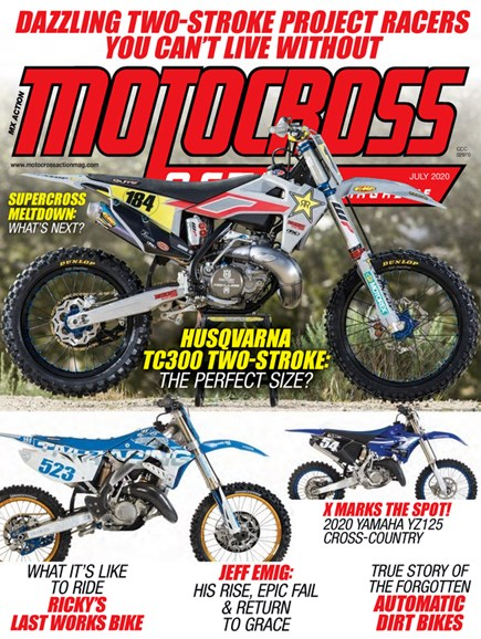 Motocross Action Cover - 7/1/2020