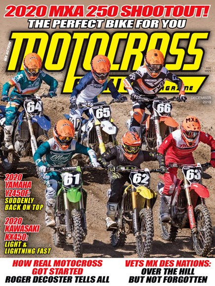 Motocross Action Cover - 12/1/2019
