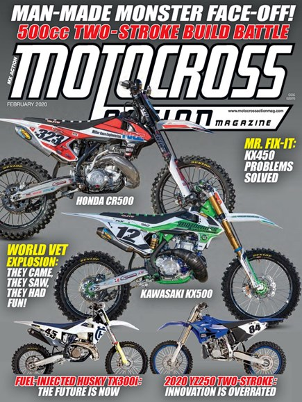 Motocross Action Cover - 2/1/2020