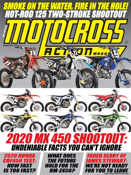Motocross Action Cover - 1/1/2020