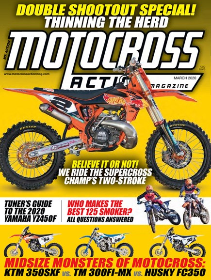 Motocross Action Cover - 3/1/2020