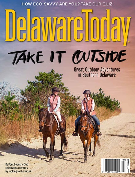Delaware Today Cover - 4/1/2020