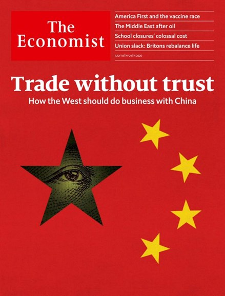 The Economist Cover - 7/18/2020