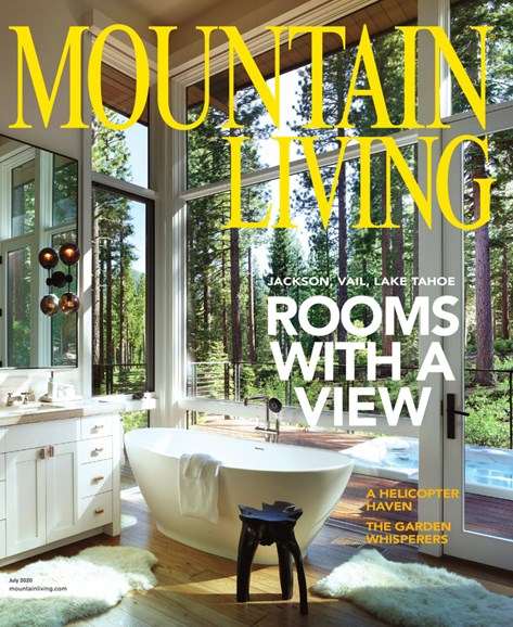 Mountain Living Cover - 7/1/2020