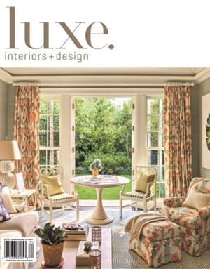Luxe Interiors & Design   3/2020 Cover
