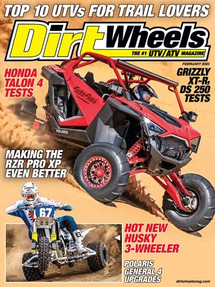 Dirt Wheels Cover - 2/1/2020