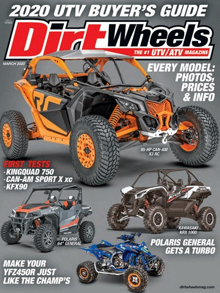 Dirt Wheels Cover - 3/1/2020