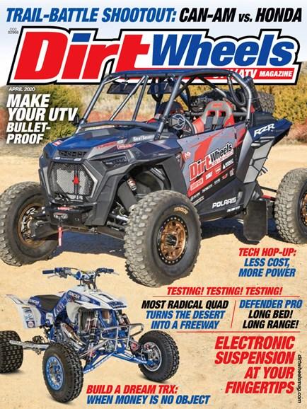 Dirt Wheels Cover - 4/1/2020