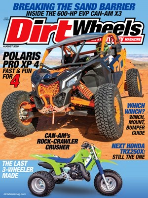 Dirt Wheels Magazine | 8/2020 Cover