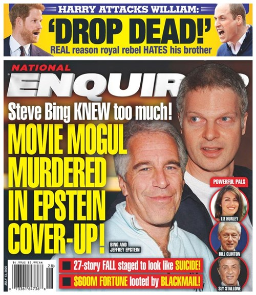 National Enquirer Cover - 7/13/2020