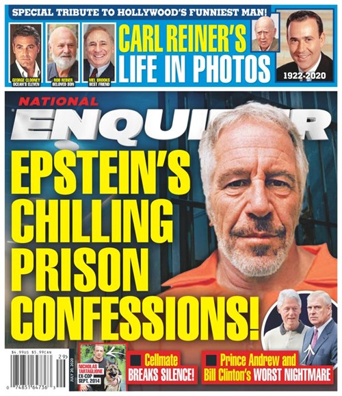 National Enquirer Cover - 7/20/2020