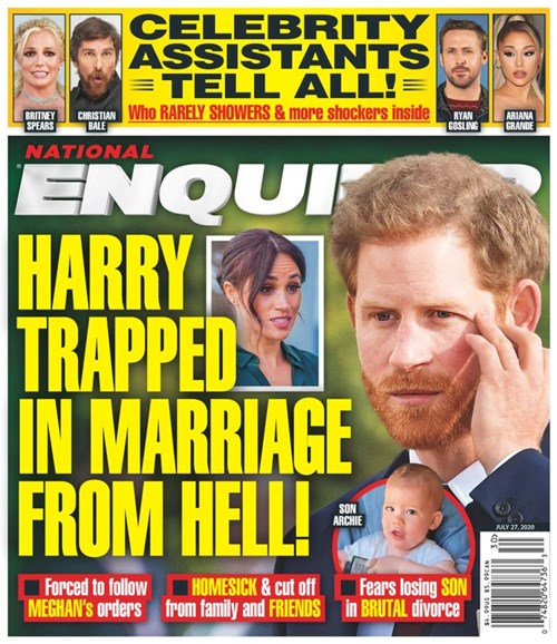 National Enquirer Cover - 7/27/2020