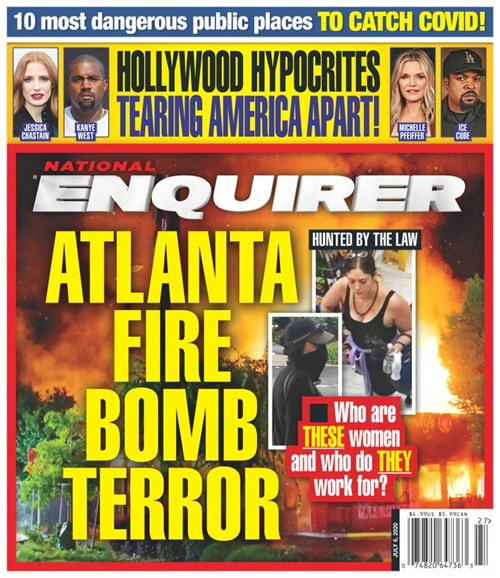 National Enquirer Cover - 7/6/2020