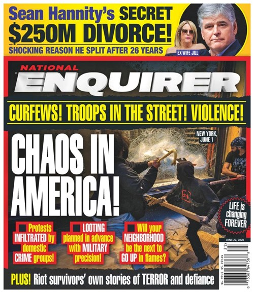 National Enquirer Cover - 6/22/2020