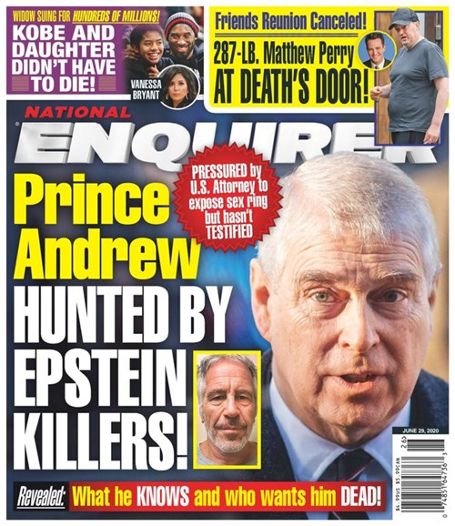 National Enquirer Cover - 6/29/2020