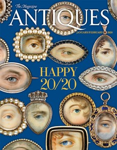 The Magazine Antiques | 1/2020 Cover