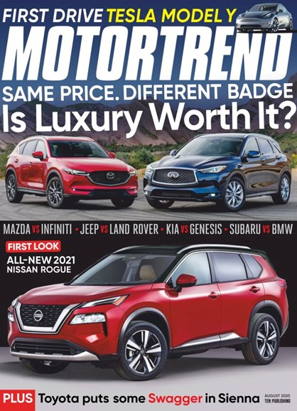 Motor Trend Cover - 8/1/2020