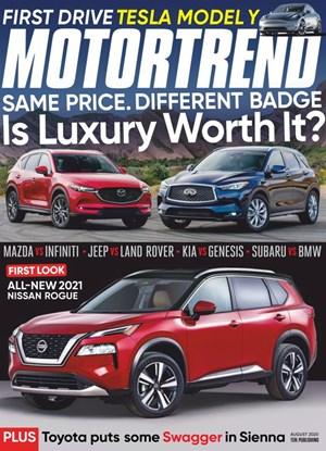 Motor Trend Magazine | 8/2020 Cover